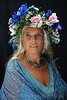Goddess Conference :  The Glastonbury Goddess Conference has been held at the beginning of August each year since 1996. Three to Four hundred women from all over the World, arrive in Glastonbury for a five day event of lectures and workshops, centered on the Town Hall, but including parades to Chalice Well, The Tor, and other parts of Glastonbury. They have restored Goddess Worship, suppressed, they believe, for over two thousand years ? and celebrate the living Goddess in Glastonbury, known as Our Lady of Avalon.   For Sale A DVD of Glastonbury Goddess Conference 2006 Lasting 15 minutes, of Ann's photographs covering the conference, with music by Julie Felix. Cost £9.99 + £1 P & P for UK orders. For overseas, please e-mail Ann for cost.