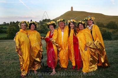 Priestesses and Glastonbury Tor
