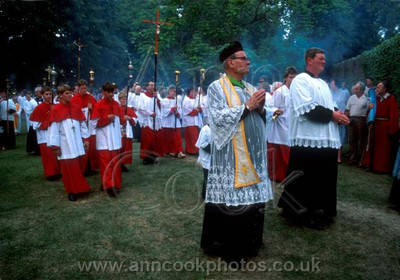 Processing clergy and boys