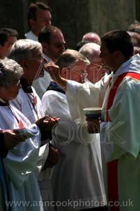 Receiving Communion b