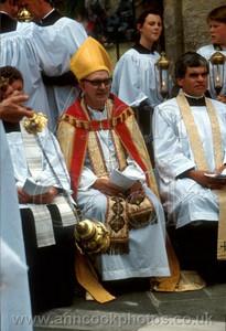 Seated Bishop