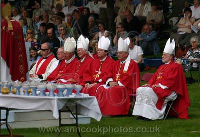 Priests listening