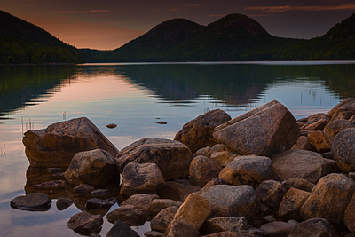 Sunset, Acadia National Park