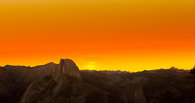 Sunrise, Half Dome