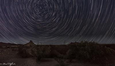 Star Trails, Big Bend National Park