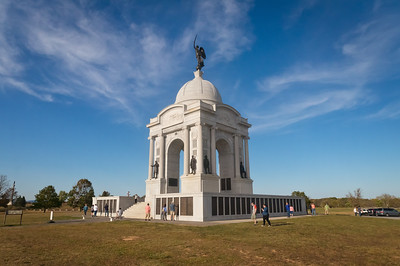 Gettysburg National Military Park #2: State of Pennsylvania Monument