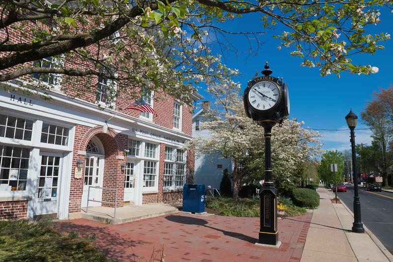 Clock at Yardley Borough Hall