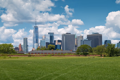 View of Lower Manhattan from Governors Island