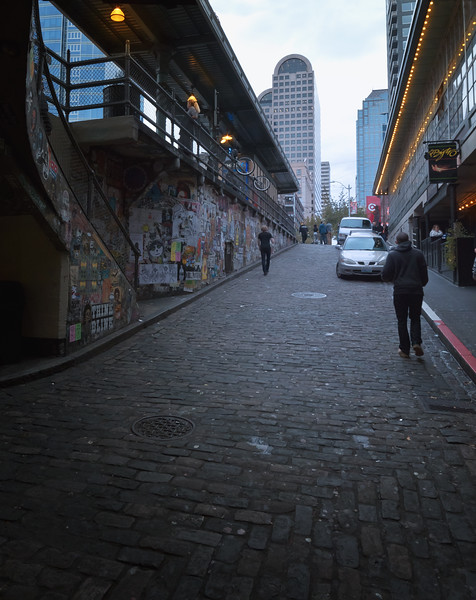 Leaving Post Alley