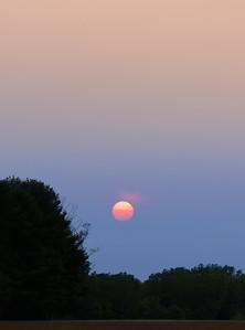 Smokey Sun Setting II