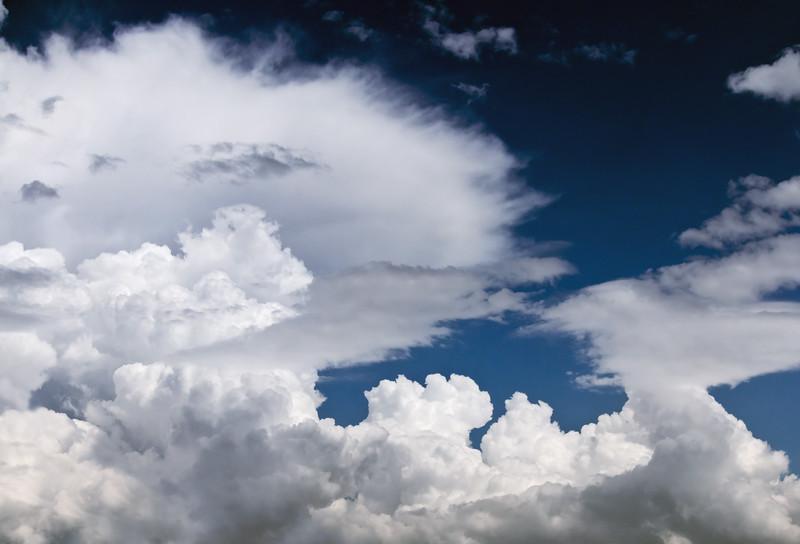 Forming Cumulonimbus with Anvil Cloud