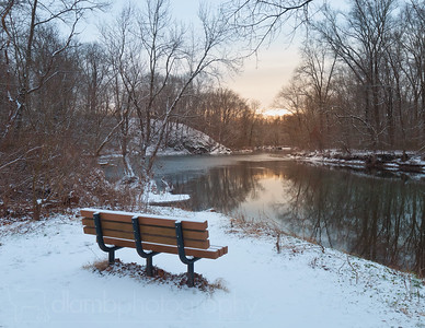 Winter Seat With a View of the Fading Warmth