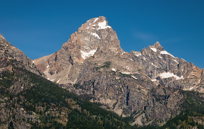 The Grand Teton Peak