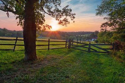 Pennsylvanian Summer Sunset