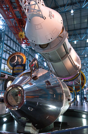 Apollo Command Module Saturn V Rocket