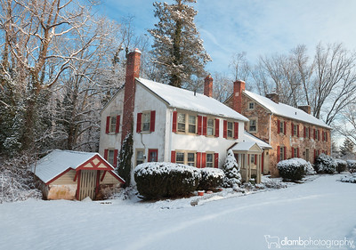 Snowy Day at the Old Cottage