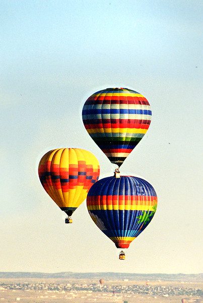 balloons from air 261