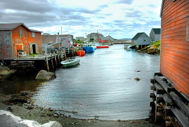 boat docks Nova Scotia 080807 0125