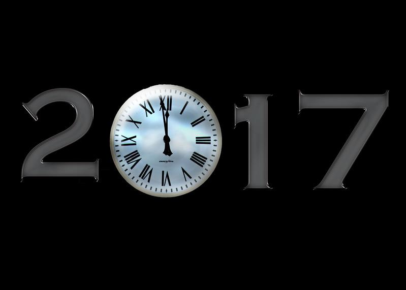 clock 2017 metal