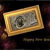 Stain glass New year
