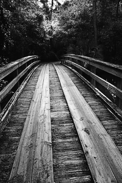 wooden bridge 081716_2964 bw low key