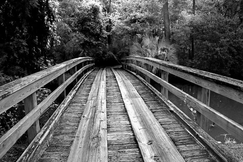 wooden Bridge  081716_2962 bw