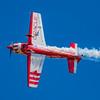Team Oracle pilot John DeGennaro performing at the 2017 Vectren Dayton Air Show.