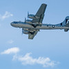 """B-29 """"Fifi"""" in flight at the Rockford Air Show, in Rockford,IL in June 2013.<br /> <br /> Image 2 of 2"""