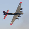 """B-17G """"Texas Raiders"""" Flying Fortress in flight at the Wings Over Houston Airshow on October 26-27, 2013.<br /> <br /> Image 3 of 6"""