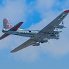 """B-17G """"Texas Raiders"""" Flying Fortress in flight at the Wings Over Houston Airshow on October 26-27, 2013.<br /> <br /> Image 6 of 6"""