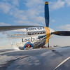 """P51-D """"Long Island Kid"""" at the Wings Over Houston Airshow, held October 26-27, 2013."""