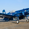 "F4U-5 Corsair known as ""Whistling Death"" to the Japanese.  This fighter was the main stay of the US Navy and Marine Corps during the WWII Pacific campaign.  Image taken at the 2013 Wings Over Houston Air Show, October 26-27, 2013<br /> This image is sized at 2x3"