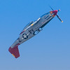Tuskegee Airman P-51 Mustang performing for the crowd at the 2013 Wings Over Houston Airshow, on October 26-27, 2013.