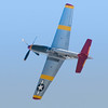 Tuskegee Airman P-51 Mustang performing for the crowd at the 2013 Wings Over Houston Airshow, on October 26-27, 2013.<br /> <br /> Image 1 of 5