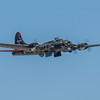 B-17 Superfortress in the air at the Wings Over Houston Air Show, November 2014.<br /> <br /> Image 2 of 2
