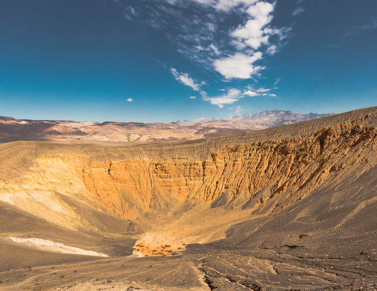 November - Ubehebe Crater, Death Valley National Park