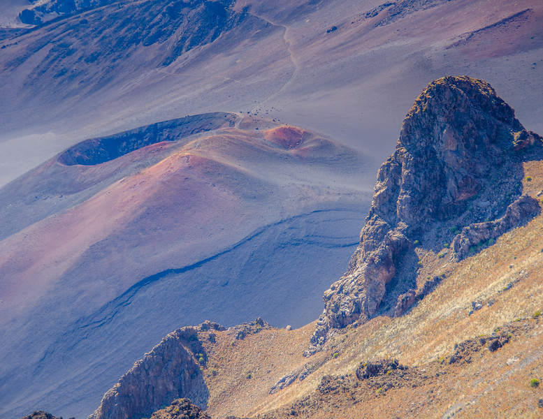 February - Haleakala Crater, Hawaii