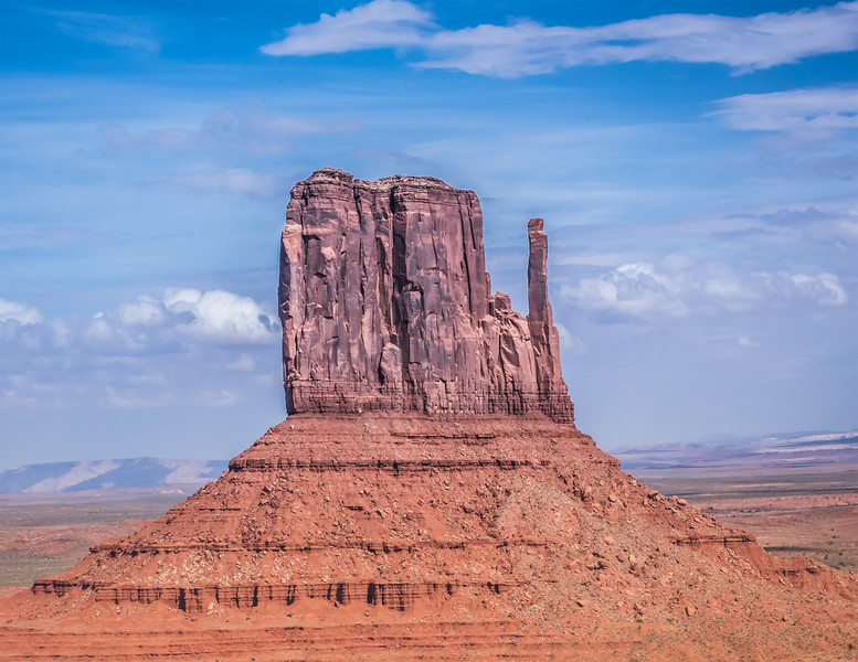 March - West Mitten - Monument Valley, Navaho Tribal Park
