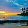 Sunset on Oahu.