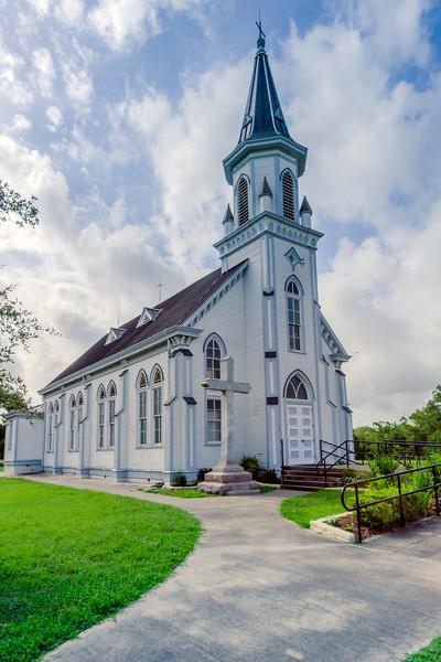 Saints Cyril and Methodius Catholic Church in Dubina, Texas
