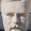 Bust of president Teddy Roosevelt, David Adicke SculptrWorx Studios, Houston, Texas.