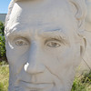 Bust of president Abraham Lincoln, David Adicke SculptrWorx Studios, Houston, Texas.