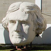Bust of president Thomas Jefferson, David Adicke SculptrWorx Studios, Houston, Texas.