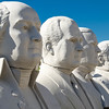"""Presidents Row"", David Adicke's SculptrWorx Studio, near the Galleria area, Houston, Texas."