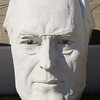 Bust of president Franklin Delano Roosevelt, David Adicke SculptrWorx Studios, Houston, Texas.