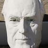 Bust of president Franklin Delano Roosevelt, David Adicke SculptrWorx Studios, Houston, Texas.