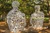 Sculptures near Rice University in Houston, Texas