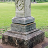 A monument at San Jacinto honoring those who fought for Texas' independence