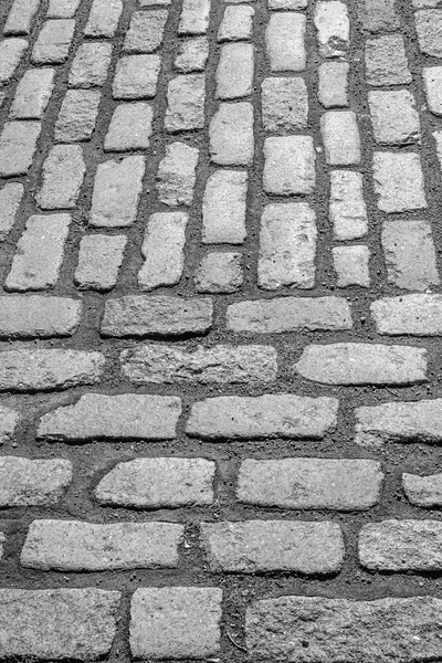 Cobblestone street, Old Town Montreal, Quebec.  And in Black & White.....