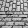 Cobblestone street, Old Town Montreal, Quebec.<br /> <br /> And in Black & White.....